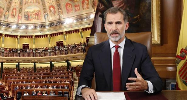 Le Roi Felipe VI d'Espagne dissout le Parlement et convoque de nouvelles élections