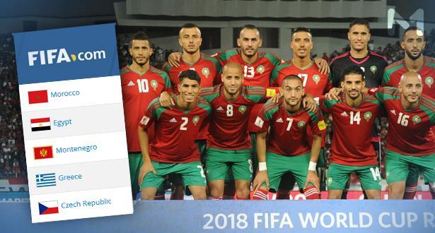 """بعد المونديال .. """"الفيفا"""" تعيد المغرب 5 خطوات للوراء ومنتخبات إفريقية تتقدم"""