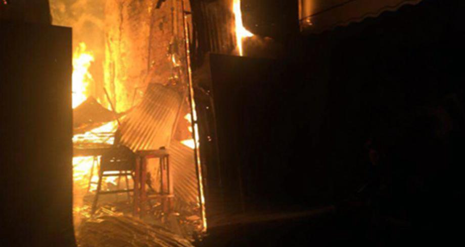 مصرع شخص جراء حريق اندلع بالسوق الجماعي لبلفاع