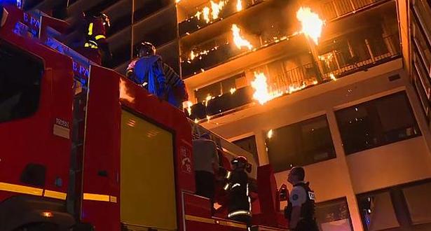 مصرع 4 أشخاص على الأقل جراء حريق شب في مستشفى للأمراض النفسية بأوكرانيا