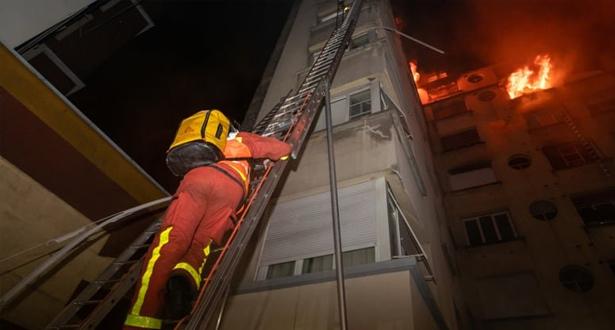 قتلى وعشرات المصابين في حريق وسط باريس