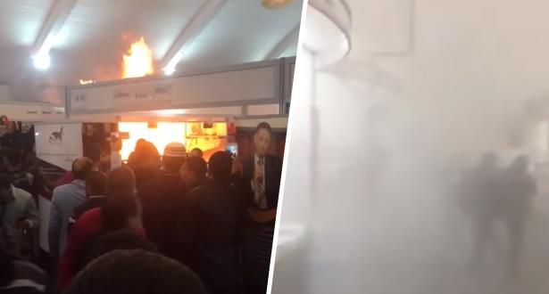 Casablanca: incendie dans un stand du Salon du Livre