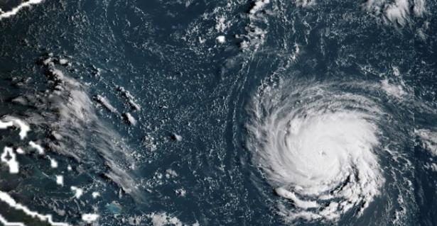الولايات المتحدة ..  تخفيض قوة الاعصار فلورنس الى الفئة الأدنى