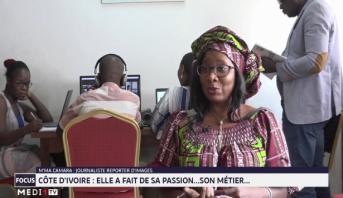 Focus : portrait de M'ma Camara, journaliste reporter d'images