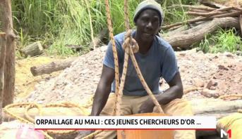Orpaillage au Mali: ces jeunes chercheurs d'or