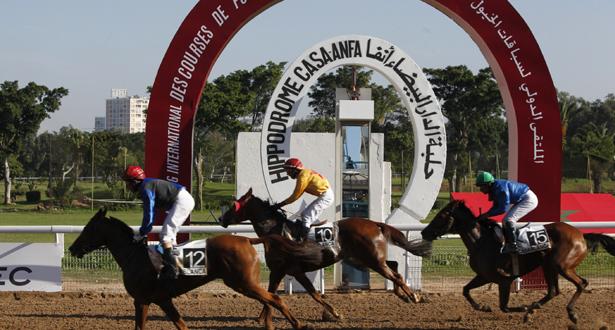 الفرس (أطلس) يفوز بالجائزة الكبرى لولي العهد الأمير مولاي الحسن في سباق الخيول