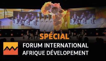 Casablanca: cérémonie d'ouverture du Forum international Afrique développement