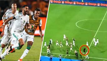 """فيديو .. تصرف ذكي و""""حكيم"""" من مساعد مدرب الجزائر يجنب """"الخضر"""" سيناريو مفاجئ"""
