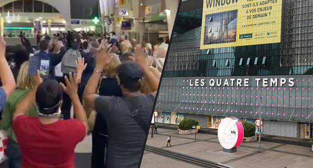 عملية أمنية وإخلاء مركز تجاري بباريس