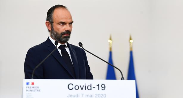 """فرنسا تعلن موعد رفع إجراءات العزل، مع الإبقاء على قيود صارمة في """"مناطق حمراء"""""""