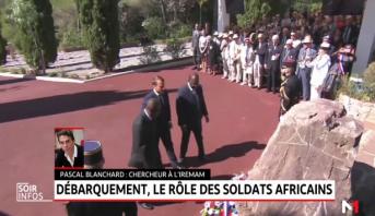 Débarquement de Provence: la France rend hommage aux soldats africains