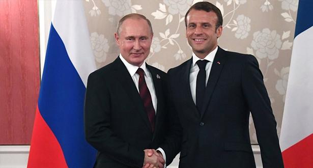 الاجتماع السنوي لسفراء فرنسا .. ماكرون يدعو لتطبيع العلاقات مع روسيا