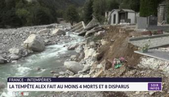 France: La tempête Alex fait au moins 4 morts et 8 disparus
