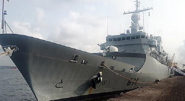 """Le Maroc participe à l'exercice naval multinational """"Obangame Express 2019"""""""