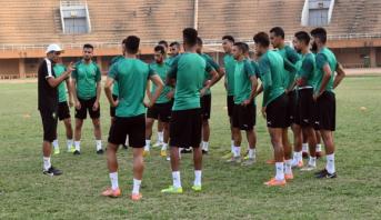 تغيير موعد المباراة الودية الثانية بين المنتخب الوطني للاعبين المحليين ونظيره الغيني