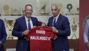 Vahid Halilhodzic, nouveau sélectionneur des Lions de l'Atlas