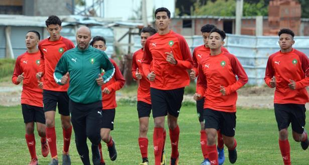 Foot : L'équipe nationale U17 en stage de préparation à Maâmoura