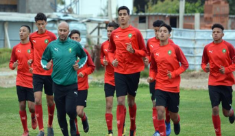 L'équipe nationale U17 en stage de préparation à Maâmoura