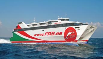 La compagnie maritime FRS commence l'exploitation des lignes Motril–Melilla et Huelva–Îles Canaries