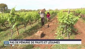 Coronavirus: pas de pénurie de fruits et légumes au Maroc