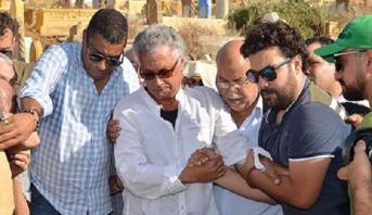 Rabat: funérailles du chanteur-compositeur, Hassan Mégri