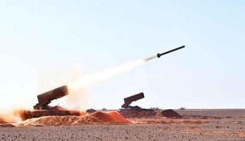 انفجار صاروخ مضاد للطائرات للقوات الجوية الكورية الجنوبية في الجو بعد انطلاقه بالخطأ