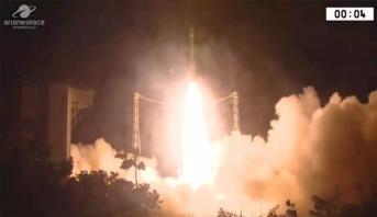 Échec du lancement d'une fusée Vega