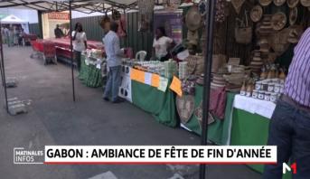 Gabon: Ambiance de fête de fin d'année