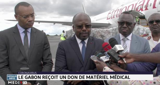 Coronavirus: le Gabon reçoit un don de matériel médical
