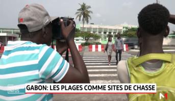 Gabon: les plages comme sites de chasse