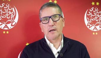 رسميا .. الوداد الرياضي يفك ارتباطه بالمدرب الاسباني خوان كارلوس كاريدو