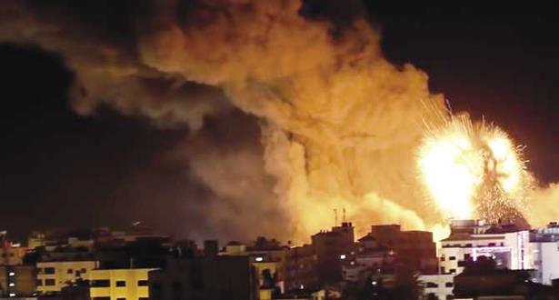Gaza: deux palestiniens blessés dans un nouveau raid israélien