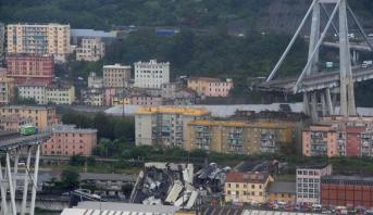 حصيلة جديدة .. 22 قتيلا في أكثر انهيارات الجسور دموية بإيطاليا