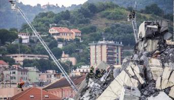 """إيطاليا .. عام من """"الطوارئ"""" إثر كارثة جسر جنوى"""