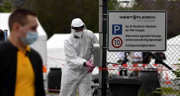 """وضع وباء كوفيد-19 في ألمانيا """"خطير للغاية"""""""