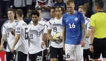 فيديو .. ثمانية أهداف لألمانيا في مرمى إستونيا برسم تصفيات كأس أوروبا 2020