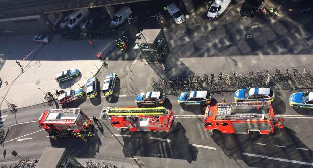 إصابة 3 أشخاص خلال عملية تحرير رهينة في محطة قطارات ألمانية