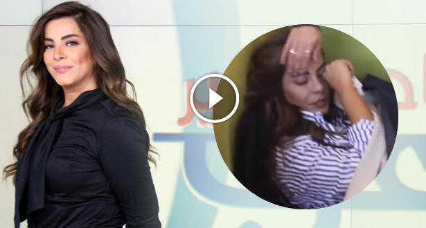 مدي 1 تي في الأخبار فيديو مذيعة قناة ام بي سي تفقد الوعي