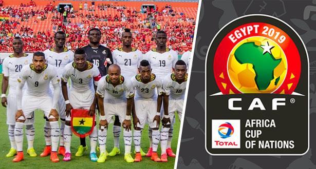 """منتخب غانا يكشف عن لائحته النهائية للمشاركة في """"الكان"""""""