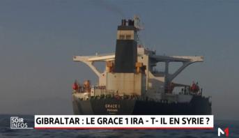 Gibraltar: le Grace 1 ira-t-il en Syrie?