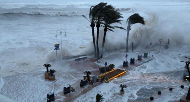 إسبانيا .. ارتفاع حصيلة ضحايا عاصفة (غلوريا) إلى 10 قتلى
