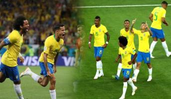 هدف كوتينيو المبهر يشعل قمة سويسرا والبرازيل