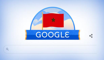 """""""غوغل"""" يحتفل بالذكرى الـ 64 لاستقلال المغرب"""