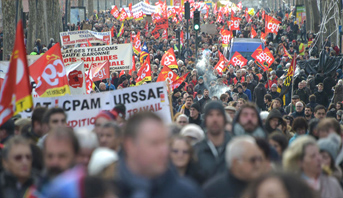 تظاهرات جديدة في فرنسا لاستعادة زخم الاحتجاج ضد إصلاح أنظمة التقاعد