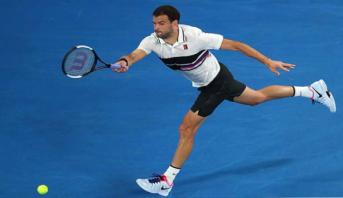 Le tennisman Dimitrov testé positif au coronavirus