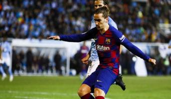 كأس إسبانيا.. غريزمان يجنب برشلونة الإحراج ويضعه في ثمن النهائي