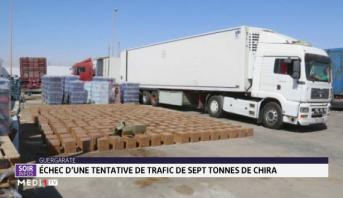Guergarate: avortement d'une tentative de trafic de sept tonnes de chira