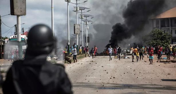 عشرة قتلى بينهم شرطيان في مواجهات في غينيا على خلفية الانتخابات الرئاسية