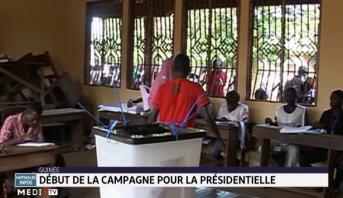 Guinée: début de la campagne pour la présidentielle