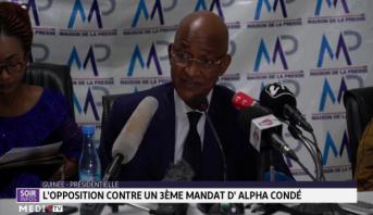 Guinée: l'opposition contre un 3ème mandat d'Alpha Condé